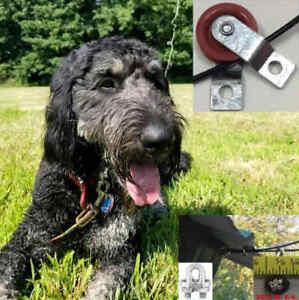 Dog Run Chariot Antenne Câble En Acier Dog Run Tyrolienne-for Small à X-grands Chiens-afficher Le Titre D'origine Avoir à La Fois La Qualité De TéNacité Et De Dureté