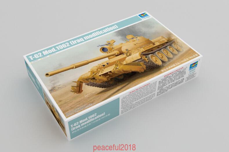 Trumpeter 1 35 35 35 01547 Russian T-62 Model 1962 Iraq Modification f84246