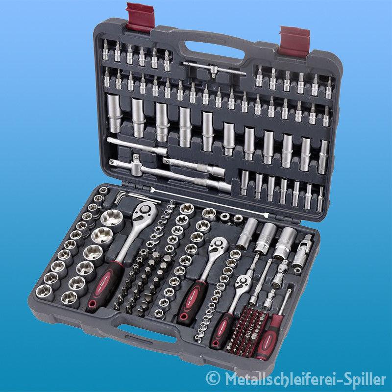 Kraftwerk® 1037 - 200-tlg. Universal Steckschlüssel Koffer 1 4  3 8  1 2