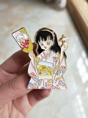 Inuyasha Higurashi Kagome Metal Badge Brooch Pin Limit Collect Gift Hot Pre N