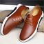 2017-New-Merkmak-Men-Casual-Shoes-Leather-Summer-Breathable-Holes-Flat-Shoes thumbnail 5