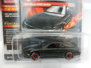2018-Johnny-Lightning-MIJO-039-S-IMPORT-HEAT-Black-1990-Nissan-240SX-Custom-NIP