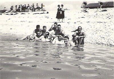 WWII German RP- Soldier- Semi Nude- Gay Interest- Swimsuit