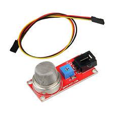 Smoke Gas Sensor MQ2 MQ-2 Module and 3pin 30cm female to female jumper cable
