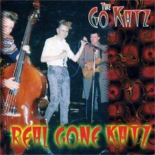 GO-KATZ Real Gone Katz CD - Old School 1980s British Psychobilly - NEW Raucous