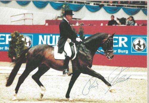 Autogramm Dr Reiner Klimke auf Biotop1999 6 x Olympiasieger 64-88 Nürnberger #
