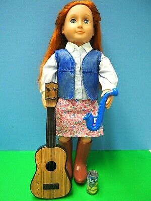 """Guitar 18"""" Our Generation Doll Accessories Country Singer"""