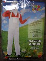 Smiffys Garden Gnome Dressing Up Costume Size - Medium