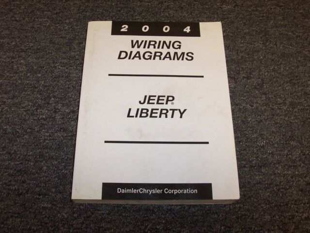2004 Jeep Liberty Electrical Wiring Diagram Manual Limited