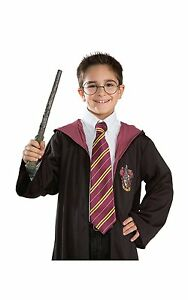 NEW-PURPLE-YELLOW-HARRY-POTTER-GRIFFINDOR-TIE-HOGWARTS-WORLD-BOOK-WEEK-TIE-B3