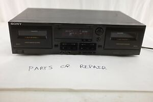 Sony-TC-WR741-Dolby-B-C-NR-2-Motor-Transport-Stereo-Cassette-Deck-Parts-Repair