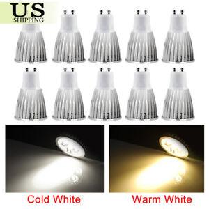 10-Pack-Ultra-Bright-GU10-LED-Non-Dimmable-Lamp-6W-9W-12W-Spotlight-Light-Bulbs