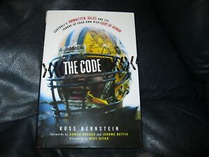 The-Code-Book-of-NFL-Autographed-by-Ross-Berstein-JSA-Auction-Certified