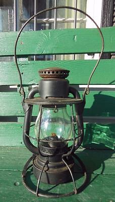 1909 MCRR MAIN MIDWEST CENTRAL RAILROAD TRAIN DIETZ VESTA LANTERN RR COMPLETE