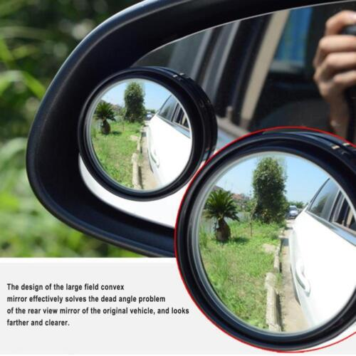 Wide Angle 360° Adjustable Round Convex Car Rearview Auxiliary Blind Spot Mirror