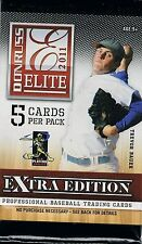 2011 Donruss Elite Baseball Hobby Guaranteed Autographed RC Card Hot Pack