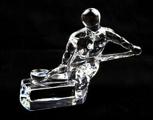 Orrefors-Glass-Sweden-Craftsmen-Series-Founder-Figurine-by-Olle-Alberius