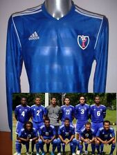 Dominican Republic ADIDAS L/S Shirt Jersey Soccer Adult L Maglia BNWT World Cup