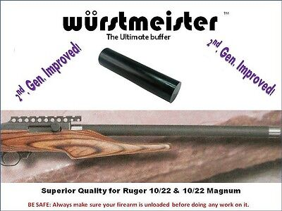 17HMR CUSTOM BUFFER FOR RUGER 10//22 /& 10//22 MAGNUM 22WMR * NEW IMPROVED!