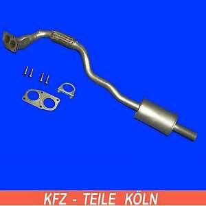 Opel-Astra-G-Zafira-A-1-4-1-6-1-8-Katalysator-Reparaturrohr-Set
