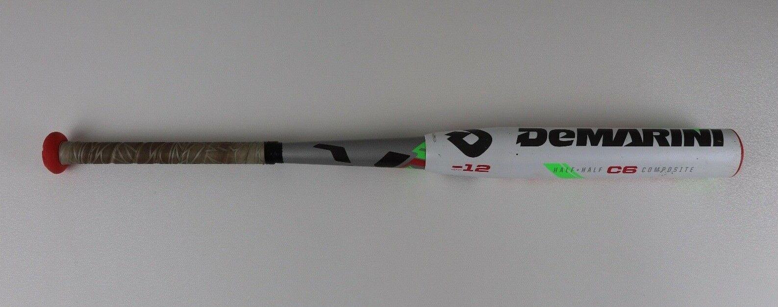 Demarini Vendetta 30 18 VCF15 -12 bate compuesto Fastpitch Softball