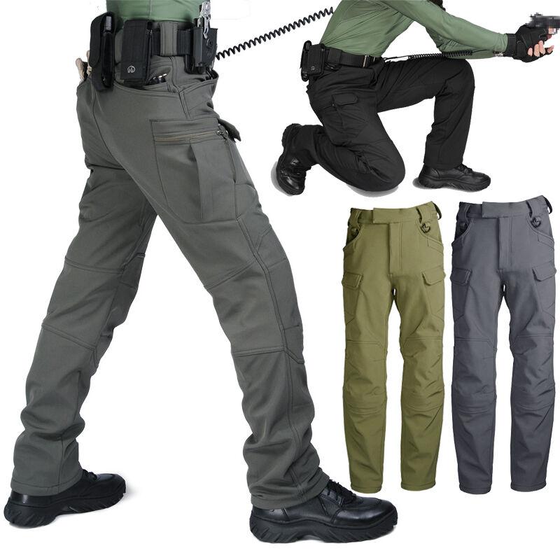 Waterproof Windproof Men's Pants Tactical Trousers Warm Outdoor Winter Ski Sport
