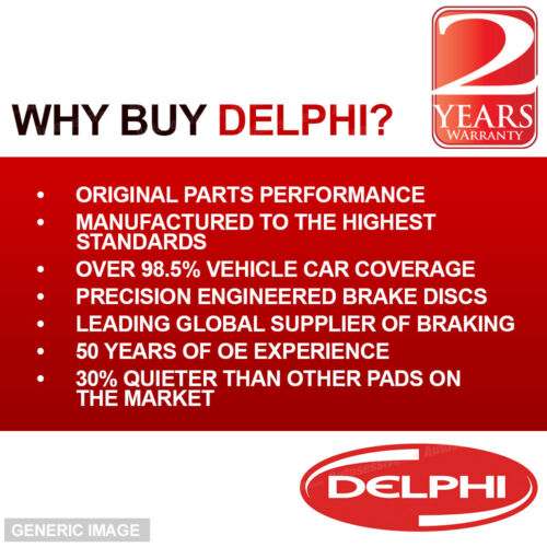 Delphi Jazz 1.4 Front Rear Brake Pads Discs Set 262mm Vented 238mm SLD 99 L13Z1