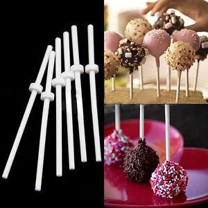 60x Cake Pops Sticks Lollipop Lutscher Kuchen Am Stiel 8cm