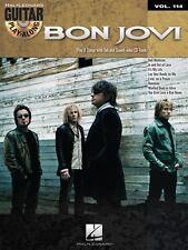 BON JOVI - GUITAR PLAY-ALONG VOLUME 114 BOOK/CD