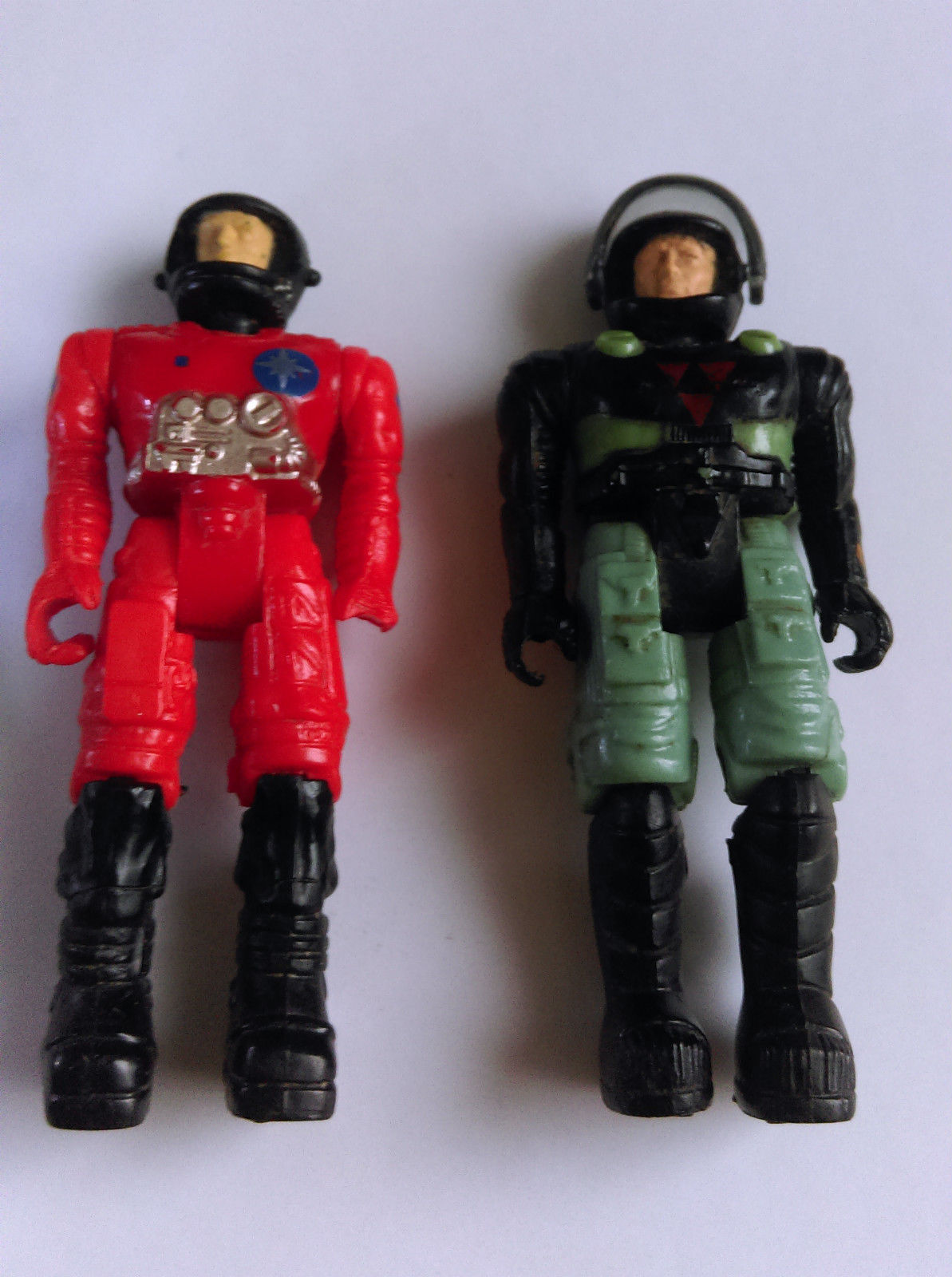 Vintage 1980's Starcom Figures - LT. VASOR and PFC. SHAWN REED