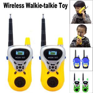 9dc7f2ff1 Image is loading 2Pcs-Wireless-Walkie-Talkie-Kids-Electronic-Toys-Portable-