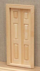 1:12 Dolls House 6 Panel Split opening door