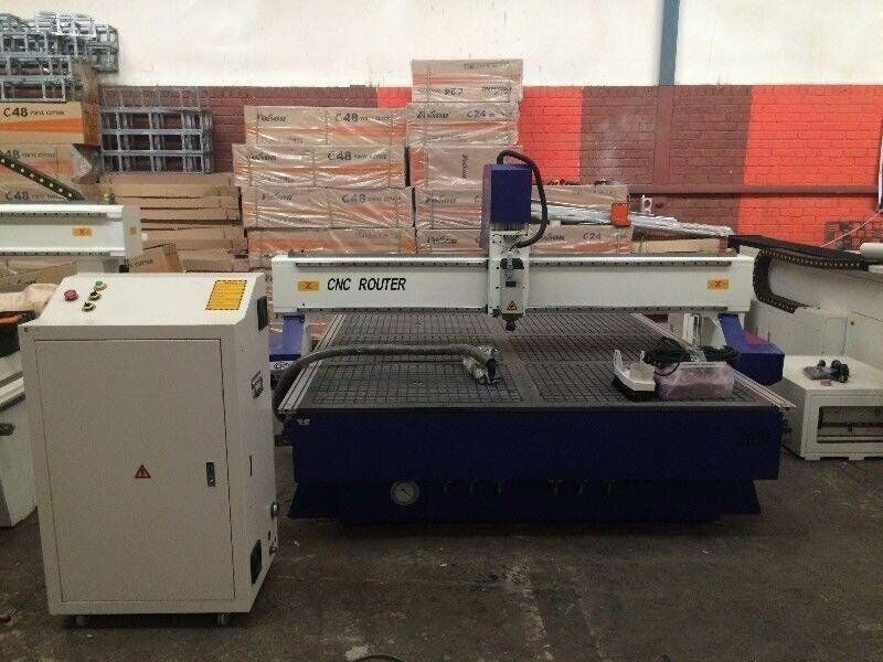 2030 CNC Router 6 kw spindle with vacuum table