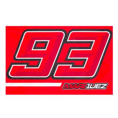 2019 Marc Marquez 93 Motogp Sostenitori Fan Flag #93 Design Official Merchandise-mostra Il Titolo Originale Alta Qualità