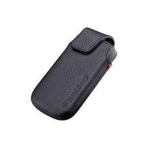Blackberry-ACC-38960-201-de-Cuero-Funda-Giratoria-Para-Torch-9850-9860-Negro