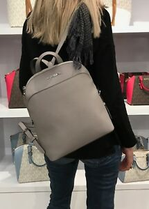 4abfe38157f2 Image is loading MICHAEL-KORS-EMMY-LARGE-BACKPACK-SAFFIANO-LEATHER-BAG-