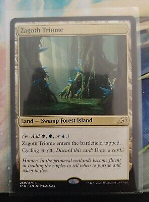 *Zagoth Triome* MTG Ikoria Lair of Behemoths #259 NM x1