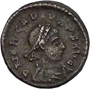 ARCADIUS-383AD-Ancient-Genuine-Roman-Coin-Wreath-of-success-i45693