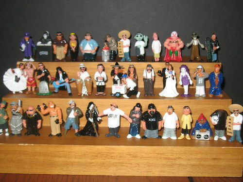HOMIES LOT of 40 Figures all Mixed with NO Duplicates From Series 1,5-12 and TP