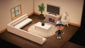 Animal Crossing New Horizons Living Room Furniture Set ... on New Horizons Living Room  id=73962