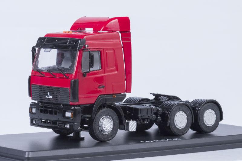 Maz 6430 traktor unit   mit spoiler 1 43 an modellen ssm1219