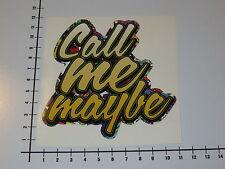 CALL ME MAYBE STICKERBOMB Aufkleber Sticker JDM OEM Decal OMG LOL Drift V8 Mi197