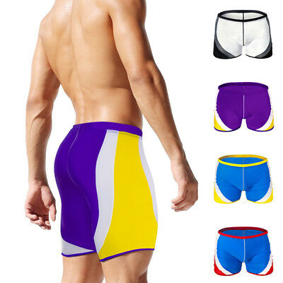 ec6a524011 Hot Men's Tight Swim Trunks Swimwear Athletic Jammers Swimsuit Beach Shorts  D726