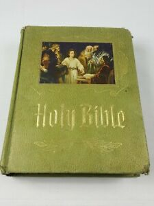 Holy-Bible-Master-Reference-Edition-Heirloom-Family-Bible-Red-Letter-1971