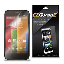 2X EZguardz LCD Screen Protector Skin HD 2X For Motorola Moto G Ferrari Edition