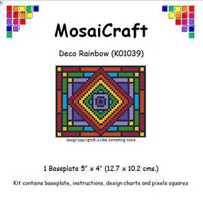 MosaiCraft-Pixel-Craft-Mosaic-Art-Kit-039-Deco-Rainbow-039-Pixelhobby