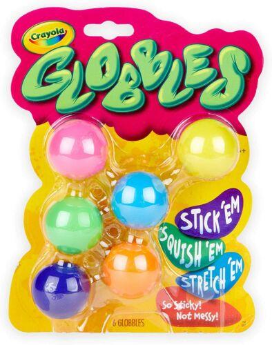 TikTok Jukers Crayola Globbles Fidget Toys New Slime 2020 WOW 6 Pack