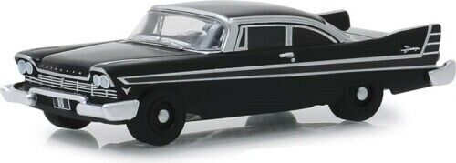 1957 Plymouth Fury *** Greenlight Black Bandit 1:64 OVP