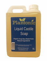 Liquid Castile Soap Base, Organic - 25kg Bulk Wholesale