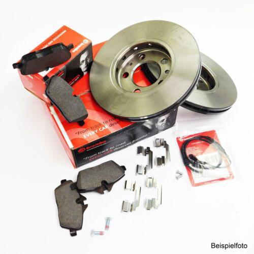 Brembo Bremsscheibensatz VA für BMW 3er E30 M10 316 318 vorne mit ABS orig